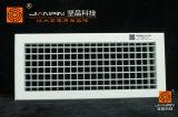 Parrilla doble de aluminio ajustable de la desviación en sistema de la HVAC