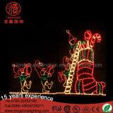 Lumière de motif de chaussette de série de Noël de qualité grande pour extérieur