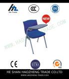 右利きのHzpc063はタブレットアーム青い人間工学的のシェルのプラスチック椅子を移行する