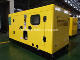 160kw 200kVA Doosanの極度の無声ディーゼル発電機セット(エンジンP086TI)