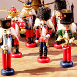 New Design Hand Crafts Christmas Resin Casse-noisettes Statues du roi