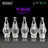 Vaporizzatore di vetro classico della cera del kit dell'atomizzatore del globo di brevetto di Seego con le opzioni multiple