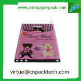 Beau sac de papier Wedding personnalisé de cadeau de sucrerie avec le traitement et la proue de bâton