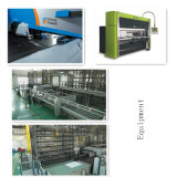 Fábrica de chassi de alumínio personalizado com serviço de série de perfuração (GL033)