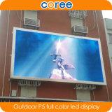 Afficheur LED polychrome élevé extérieur Sceen de l'éclat P5 de définition