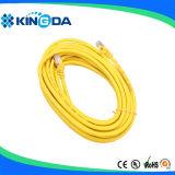 CU 3M 5M do PVC do cabo da correção de programa de SFTP Cat5e