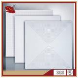 Weiße preiswerte falsche Decken-Aluminiumfliese 60X60
