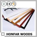 Frame de retrato de madeira do retângulo preto moderno ou frame da foto