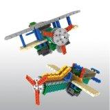 1488727-2 1軍用機のヘリコプターのブロックキットリモート・コントロールRCのブロックで教育の創造的なおもちゃ85PCS -任意カラー--をセットしなさい