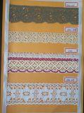 전산화된 자카드 직물 면 털실 레이스 편물기