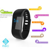 Neues Ankunft wasserdichtes Bluetooth 4.0 Schlaf-Überwachung-Silikon-intelligentes Armband