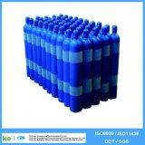 cilindro de gás ISO9809 do oxigênio do aço 2017 40L sem emenda