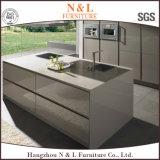 Mobília personalizada N&L da cozinha da laca do projeto