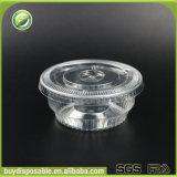 copo plástico descartável do gelado 3.5oz