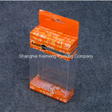 Printed&Foldabale 애완 동물 플라스틱 지도하 빛 포장 상자