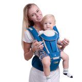 Elemento portante ergonomico multifunzionale dell'imbracatura del bambino di Hipseat di disegno dell'elemento portante di bambino di Oxford