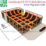 Parque de múltiples funciones para la venta, parque del trampolín del trampolín de la zona del salto