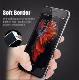3D iPhone를 위한 연약한 가장자리 전면 커버 강화 유리 이음새가 없는 덮음 반대로 글레어 플러스 6 6s