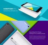 De Duim 1280*720HD Mt6580 van Homtom Ht16 5.0 1.3 van de Androïde 6.0 van de Vierling van de Kern 1GB+8GB 8MP Nieuwe Slimme GHz Kleur van de Telefoon Blauwe