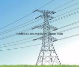 Torre de potencia eléctrica de la transmisión de la estructura de acero