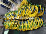 Cavo di zona ottico monomodale duplex su un lato della fibra multimoda di PC/Upc/APC Sc/LC/FC/St/Mu/MTRJ/E2000