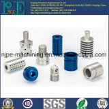 Aluminium CNC-maschinell bearbeitende Außengewinde-Rohr-Hülse