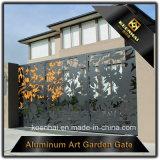 Modèle en aluminium de grille d'entrée principale de panneau de coupure de laser pour la villa