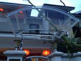 Euro--Projetar toldo redondo de alumínio do policarbonato ao ar livre o meio (YY900-I)