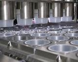 플라스틱 컵을%s 자동 묵 충전물 그리고 밀봉 기계