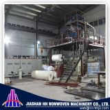 China Boa qualidade 3,2 m Máquina de tecido não tecido de linha composta Linea