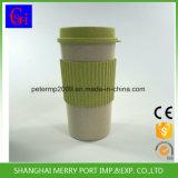 Cuvette en plastique respectueuse de l'environnement de la fibre pp de blé, cuvettes de café, tasses de café, cuvettes de course