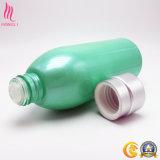Schnelle Anlieferungs-Fabrik-kosmetische runde Form-Duftstoff-Flaschen mit Nattier Blau