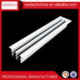 China-entfernbare Zubehör-Aluminiumluft-linearer Schlitz-Diffuser (Zerstäuber)