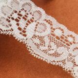 La venta superior Mujeres atractiva blanca de manga corta camisa de encaje