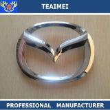 Etiqueta do corpo do logotipo do carro ABS Emblema do carro do cromo para Mazda