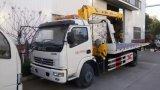 Der 6 Räderwrecker-LKW hing mit Kran für Verkauf ein