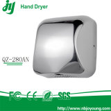Mercado automático comercial superior do Reino Unido do secador da mão da alta velocidade 1800W