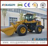 Carregador moderno Zl50 da roda do equipamento de construção da cubeta maior original de China