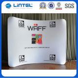 Étalage de gamme de produits et de mur de tissu de tension de large échelle