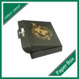Glatter schwarzer Verpackungs-Kasten mit Plastikgriff