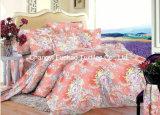 Reeks van het Beddegoed van Koningin Size Polyester Print Duvet Dekking van het Huis van China Suppiler de Textiel Kleurrijke Goedkope