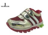 2015の方法子供のフラッシュスポーツの偶然靴(J2281)