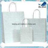 Wholesale White Craft Paper Rope Handle Sacs à papier