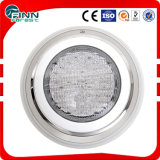 Luz de piscina blanca con borde de pared LED
