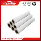 90GSM 64 '' *100m digiunano documento di trasferimento asciutto & anti di sublimazione dell'arricciatura per la macchina di stampaggio di tessuti di ampio formato
