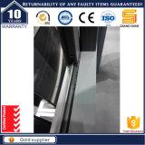 Ventana de desplazamiento sólida de aluminio gris revestida del polvo