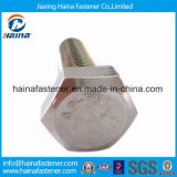 ステンレス鋼または炭素鋼の十六進ボルト及びくだらない亜鉛は熱いすくいの電流を通された十六進ナットおよびボルトをめっきした(DIN933およびDIN934)