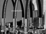 Gummischlauch-Verbinder, der hydraulisches Rohrfitting befestigt