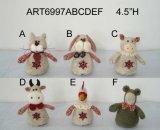 """4.5 """" Hの国のクリスマスの動物の装飾クリスマスの装飾"""