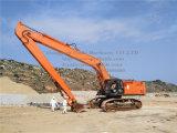 Boum et bâton Lourds-Huty Ce-Approuvés d'extension de Hitachi Zx870 21.5m longs en vente